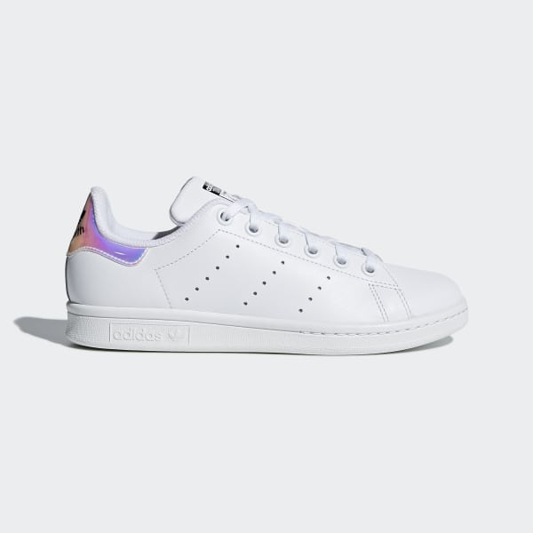 Chaussure Stan Smith Ftwr White / Metallic Silver / Ftwr White AQ6272