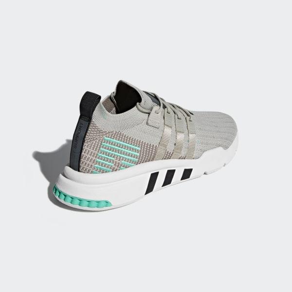 the latest 1ad20 9feff EQT Support Mid ADV Primeknit Shoes GreySesameCrystal WhiteBlue B37979