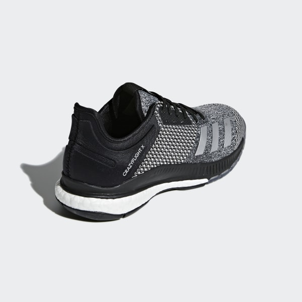 fd90d0127a1d Crazyflight X 2.0 Shoes Core Black   Silver Metallic   Cloud White CP8900