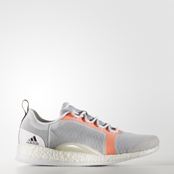 e3c6215b83eee Pure Boost X Trainer 2.0 Shoes Light Solid Grey   Core Black   Easy Orange  BA7958