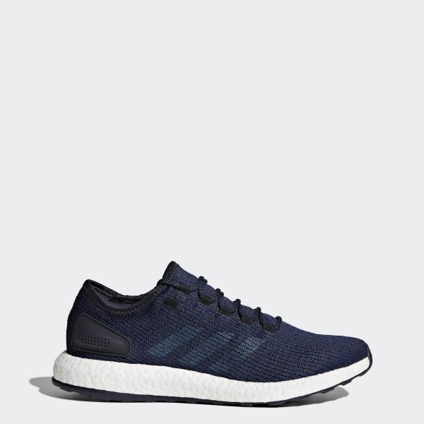 b4ce876703bc8 Pure Boost Shoes Night Navy   Core Blue   Mystery Blue BA8898