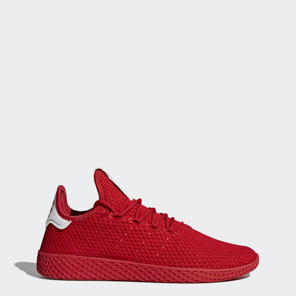 official photos e8648 3466a Tenis Pharrell Williams Hu SCARLET SCARLET FTWR WHITE BY8720