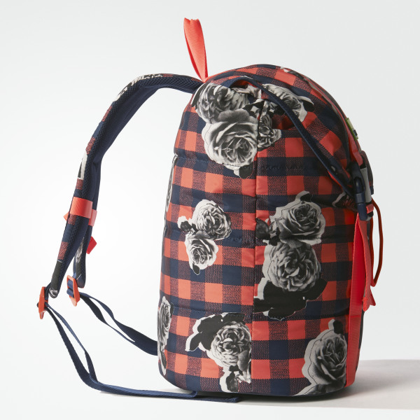 aa81b492a609 adidas STELLASPORT Printed Backpack Night Indigo   Flash Red AX7595