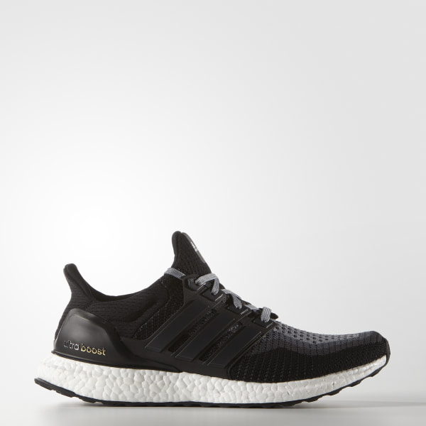 0a612af5a8449 Ultra Boost Shoes Core Black   Core Black   Solid Grey AQ4004