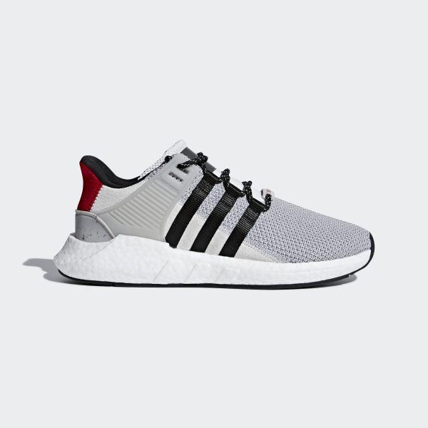 newest ad7a0 6e866 EQT Support 93 17 Shoes Grey Two Core Black Scarlet CQ2397
