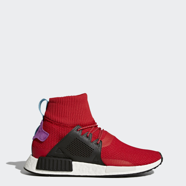 610c24740754a NMD XR1 Winter Shoes Scarlet   Core Black   Shock Purple BZ0632