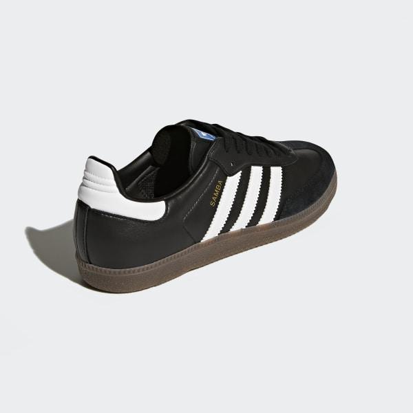 810306818798 Samba OG Shoes Core Black   Cloud White   Gum BZ0058
