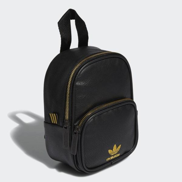73aa906556 adidas Faux Leather Mini Backpack - Black