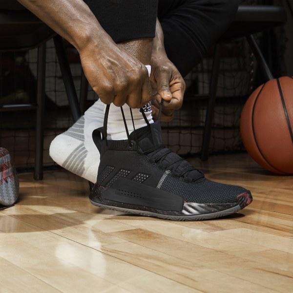 d04b90b284ea57 Dame 5 Shoes Core Black   Grey Three   Grey Four BB9316