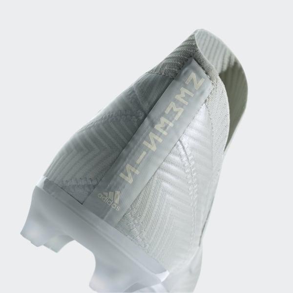 ef4b4dfab2ed Nemeziz 18+ Firm Ground Cleats Ash Silver   Ash Silver   Running White  DB2345