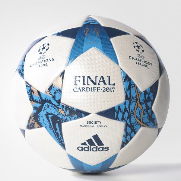 Bola Society Champions League WHITE MYSTERY BLUE  CYAN S09 BQ3427 c7baa31efc62a