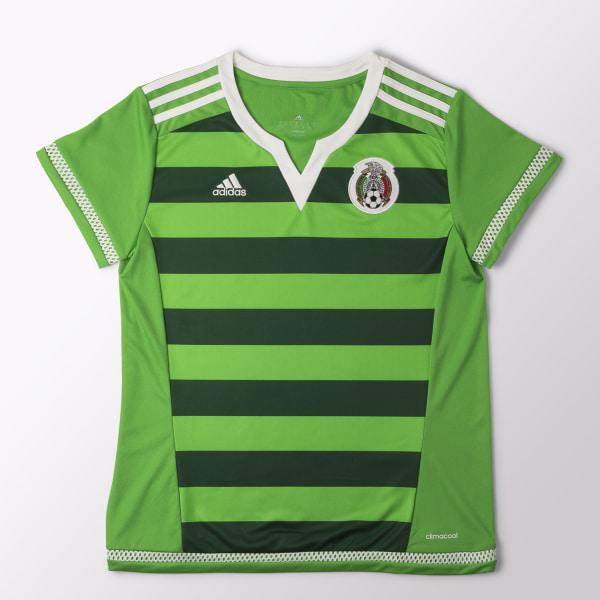 Jersey Local Selección Mexicana Mujer INTENSE GREEN   DARK GREEN   WHITE  A96983 729e6b30107aa
