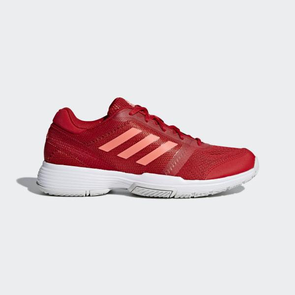 4226c3f9238 adidas Barricade Club Shoes - Red