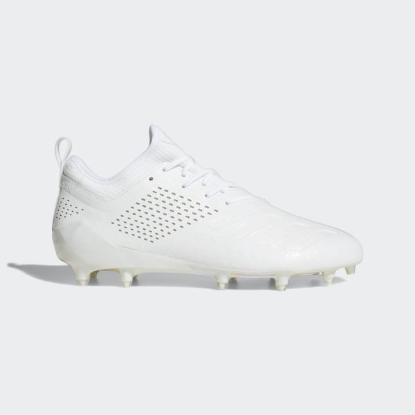 new concept c429c fca17 Adizero 5-Star 7.0 Adimoji Cleats Cloud White  Cloud White  Cloud White  CG6324