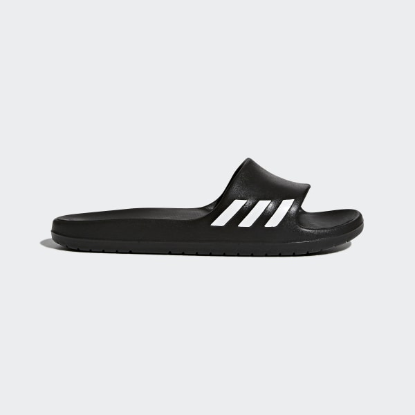 b825936f424 adidas Aqualette Slides - Black