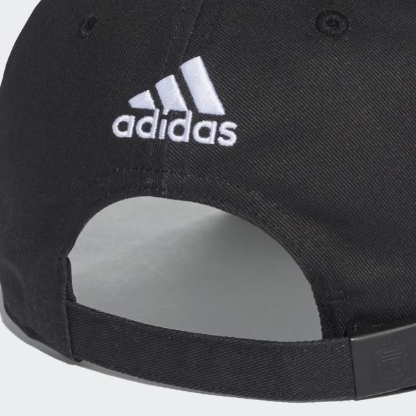 Argentina 3-Stripes Cap Black White CF4993 538211824e4f