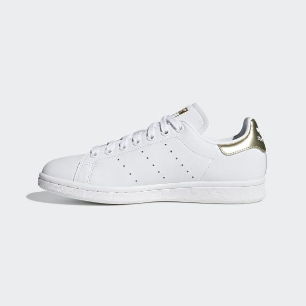 Stan Smith Shoes Cloud White / Cloud White / Gold Metallic EE8836