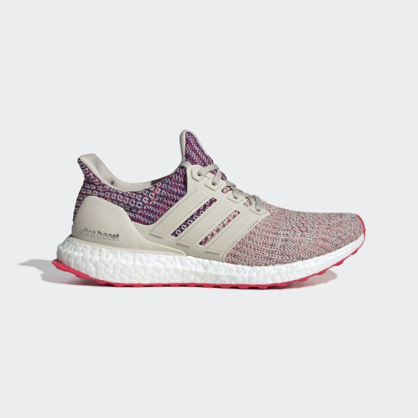 6ef398f7a Ultraboost Shoes Clear Brown   Shock Red   Active Blue F36122