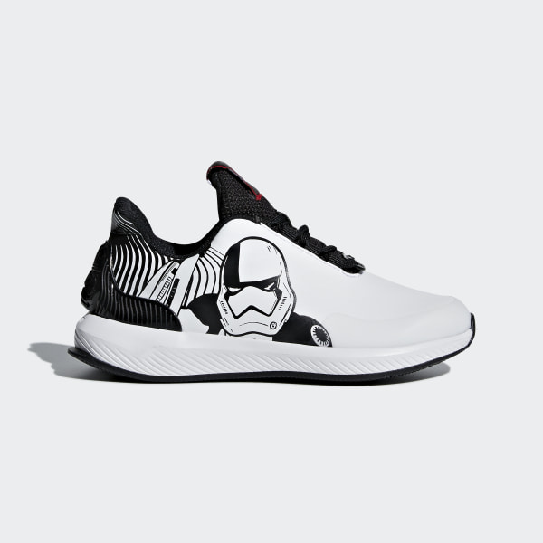 5c3ec6f655a Star Wars RapidaRun Shoes Core Black   Cloud White   Scarlet AH2466