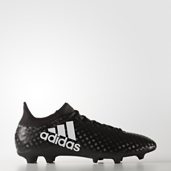 adidas Men s X 16.3 Firm Ground Boots - Black  07a9835af