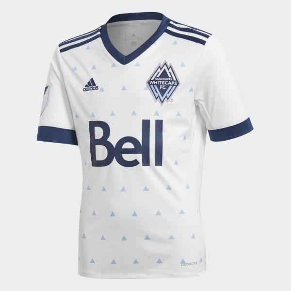 adidas Whitecaps Home Jersey - White  a2e5c15a8