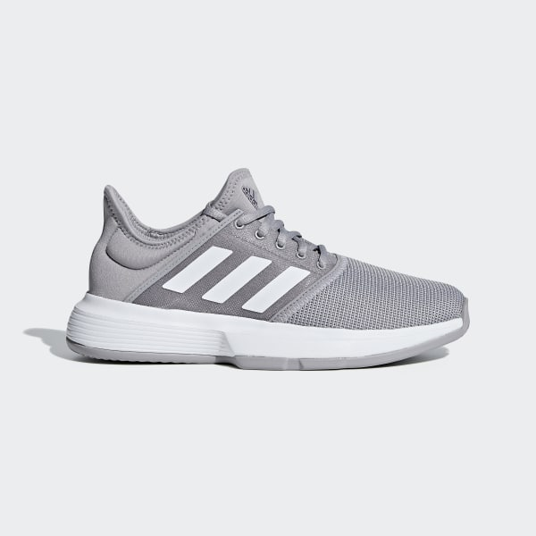 sports shoes 14820 c152c adidas GameCourt Shoes - Grey  adidas Canada
