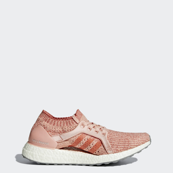 0dc5246b99ac2 UltraBOOST X Shoes Trace Pink   Trace Pink   Tactile Red BB3436