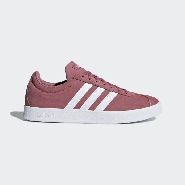 promo code d5de7 6278d VL Court Shoes Trace Pink  Ftwr White  Silver Met. B42313