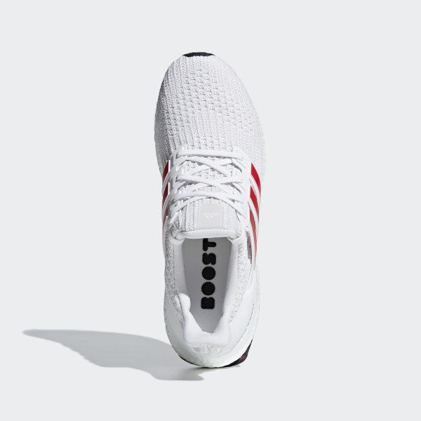 0aebc0e6854 Ultraboost Shoes Ftwr White   Active Red   Chalk White DB3199
