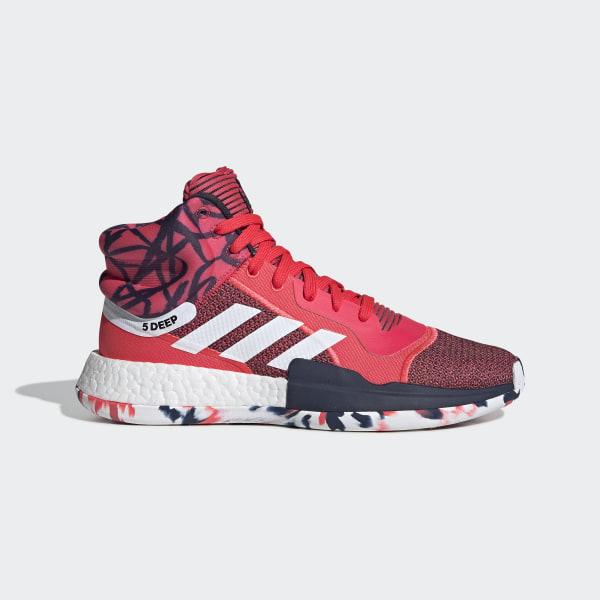 006e0180b00 Sapatos Marquee Boost Shock Red   Ftwr White   Collegiate Navy G27737