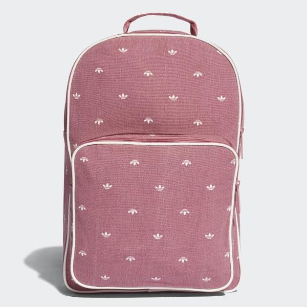 ff8ccb2288d0 Trefoil Classic Backpack Pink   White DJ1437