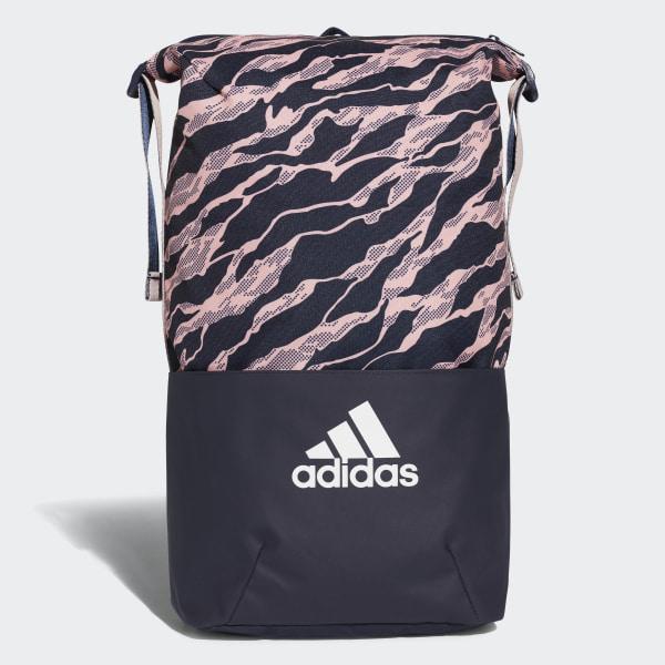 adidas Z.N.E. Core Graphic Backpack - Blue  3b63ea0643e38