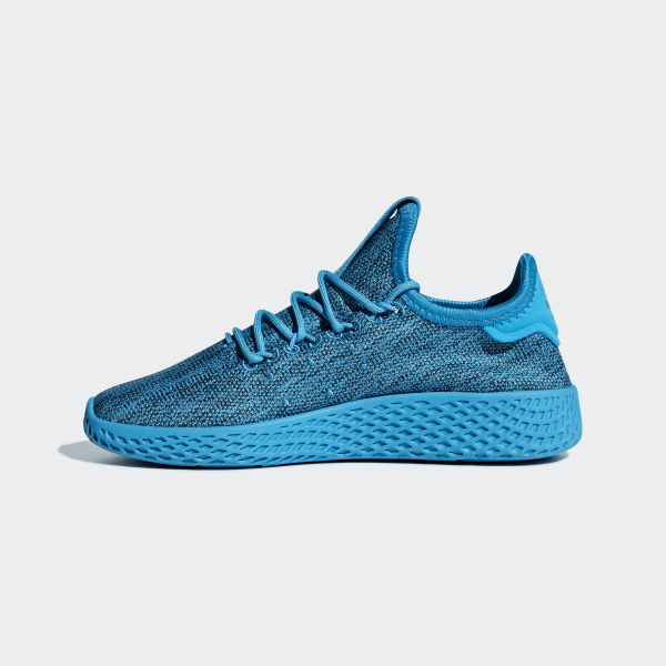 27c4023a4 Pharrell Williams Tennis Hu Shoes Bold Aqua   Bold Aqua   Chalk White B41933