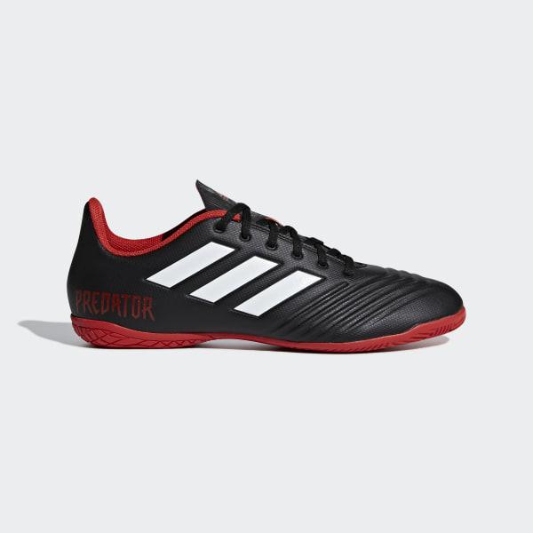 Chuteira Predator Tango 18.4 Futsal CORE BLACK FTWR WHITE RED DB2136 4001da2a07234
