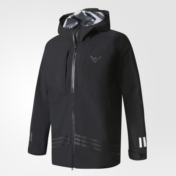 87e9ce42f16 adidas Men s White Mountaineering Shell Jacket - Black