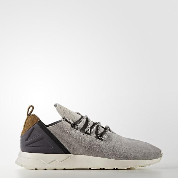 Men s ZX Flux ADV X Shoes Light Onix   Craft Khaki F16   Chalk White S76364 ea521ebefb