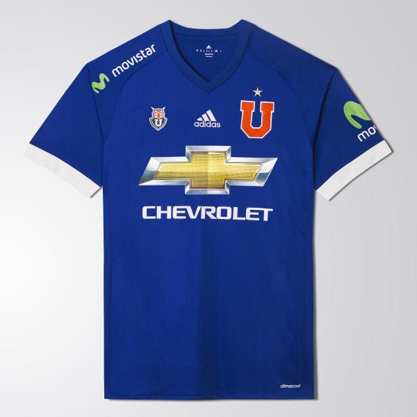 Camiseta UNIVERSIDAD DE CHILE H JSY BOLD BLUE WHITE CI8222 51b37e6411e10