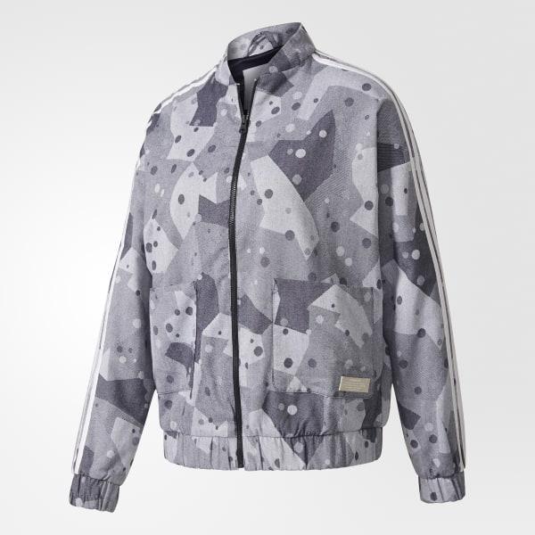 d95abed56222 Tepláková bunda Grey   Multicolor BK2263