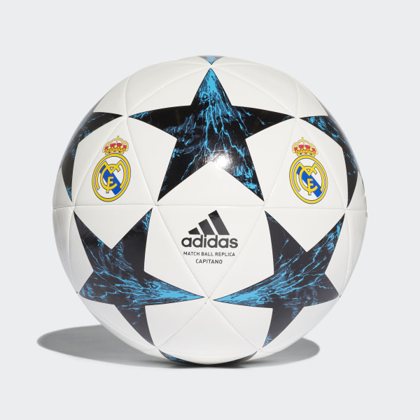 Balón Real Madrid Finale 17 Capitano WHITE BLACK VIVID TEAL S13 NIGHT NAVY e4ddf1cc0fbc6
