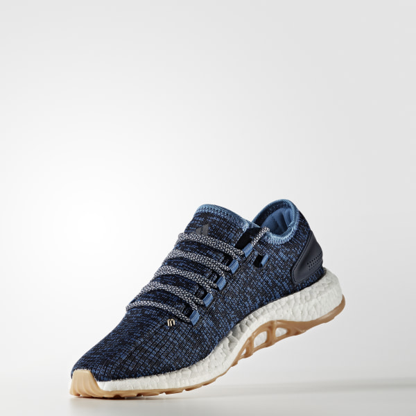 060a5d8fd2a65 Pure Boost Shoes Core Blue   Linen   Night Navy BA8896