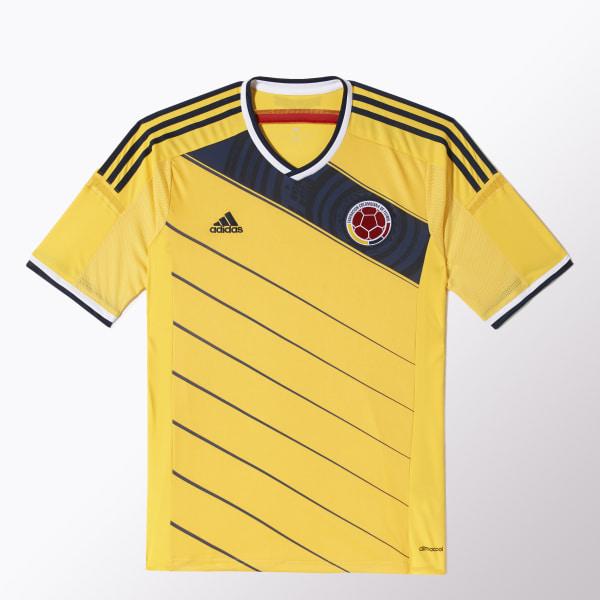Camiseta de Fútbol Selección Colombia Local LASER   COLLEGIATE NAVY G85387 d7a2aeba7f58d