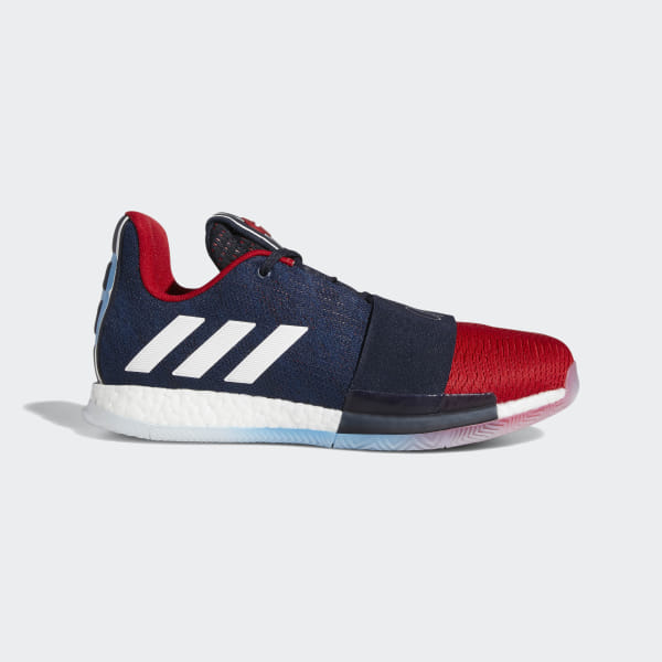 f4adfca15f4 Harden Vol. 3 Shoes Legend Ink   Collegiate Navy   Power Red G54024