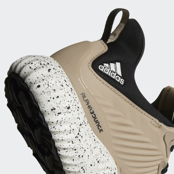 9106e39bd Alphabounce 1 Shoes Trace Khaki   Core Black   Base Green DA9728