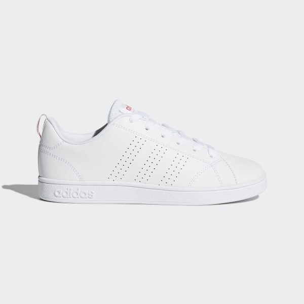 new style 29b35 d12ce Chaussure VS Advantage Clean Ftwr White  Ftwr White  Super Pink BB9976