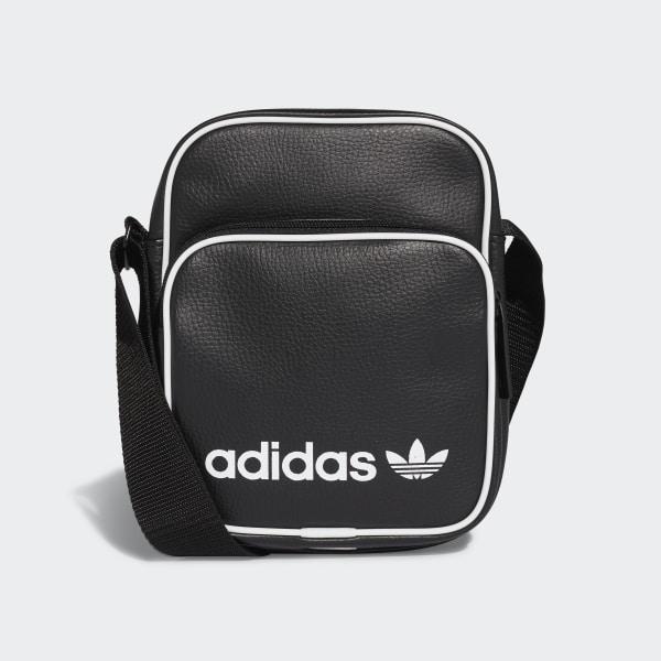 Bolso Mini Vintage - Negro adidas  d07a8677c5e05