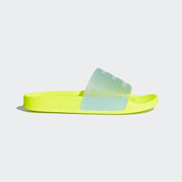 super popular 1afb5 0ead7 Adilette Lilo Slides Solar Yellow  Clear Aqua  Solar Yellow CQ2906