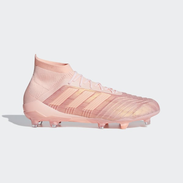 Zapatos de Fútbol PREDATOR 18.1 FG CLEAR ORANGE F18 CLEAR ORANGE F18 TRACE  PINK d7c91422b0714