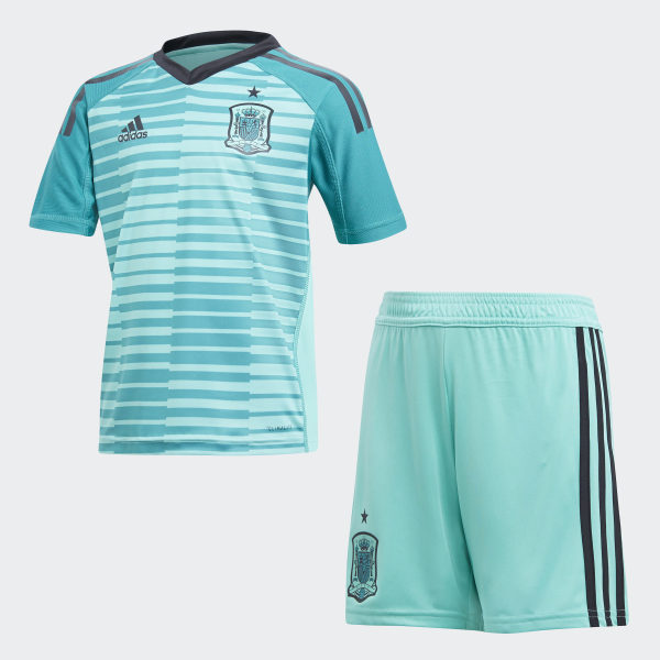 03f7839146 Spain Goalkeeper Mini Kit Aero Green   Power Green BR2698