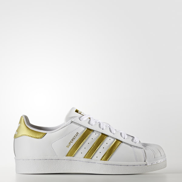 premium selection 5971d 7a1be Zapatillas Originals Superstar Mujer FTWR WHITE MATTE GOLD FTWR WHITE BA9917