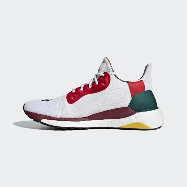 b5547d83b6062 Pharrell Williams x adidas Solar Hu Glide ST Shoes Collegiate Burgundy    Cloud White   Core